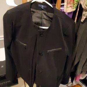 Gap blazer, light jacket, EUC, sz M, black